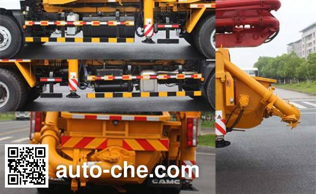 CAMC AH5330THB2L4 concrete pump truck