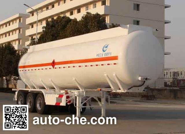 Kaile AKL9400GRYA flammable liquid tank trailer