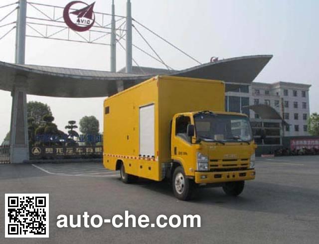 Jiulong ALA5100XZMQL4 спасательный автомобиль с осветительной установкой