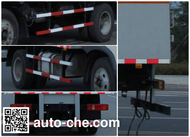 Jiulong ALA5160XQYDFL4 explosives transport truck
