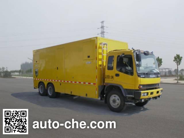 Jiulong ALA5251XDYQL5 мобильная электростанция на базе автомобиля