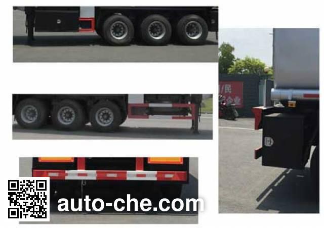 Jiulong ALA9400GGY liquid supply tank trailer