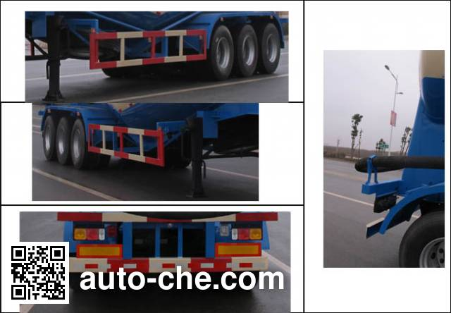 Jiulong ALA9401GFL low-density bulk powder transport trailer