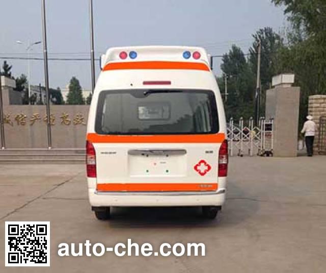 北铃牌BBL5035XJH救护车