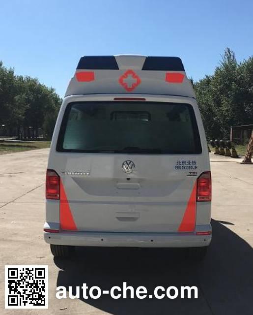 北铃牌BBL5036XJH救护车