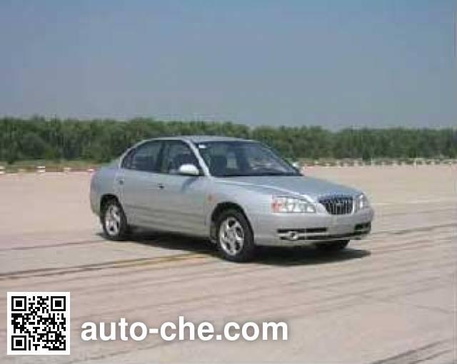 Двухтопливный легковой автомобиль Beijing Hyundai BH7162FMY