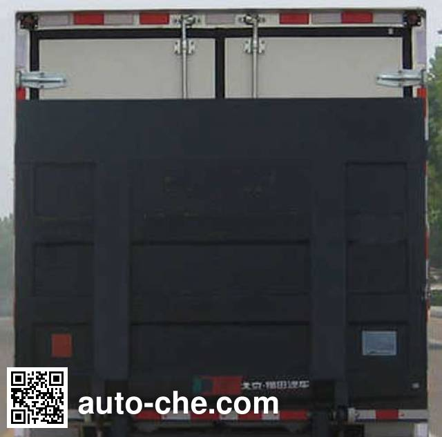 Foton BJ2045XXY-1 cross-country box van truck
