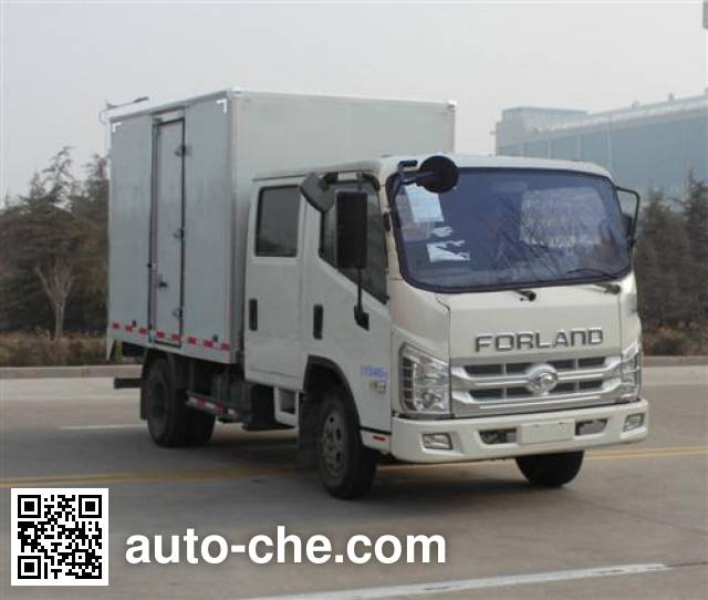 Foton BJ2046Y2ABV-A2 cross-country box van truck