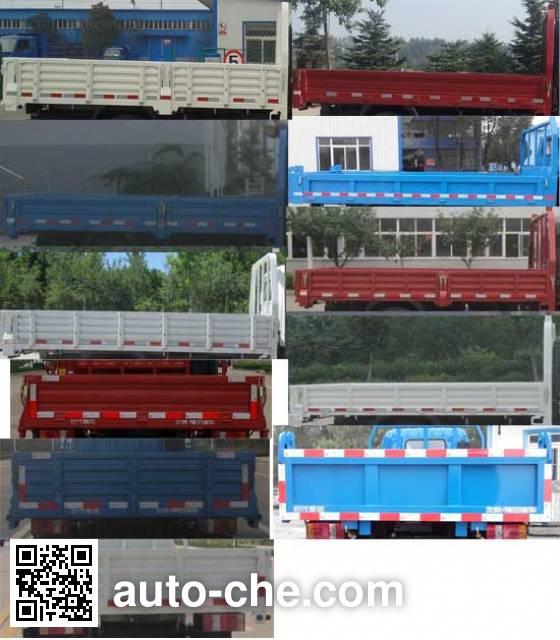 Foton BJ3083DEJEA-FA dump truck