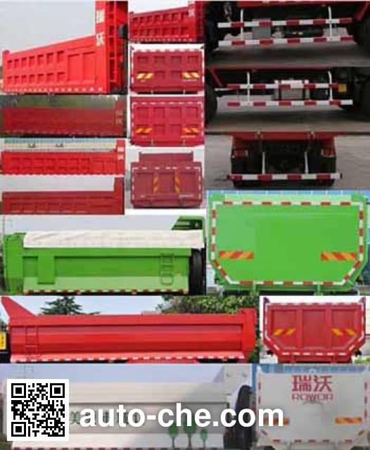 Foton BJ3253DLPJH-6 dump truck