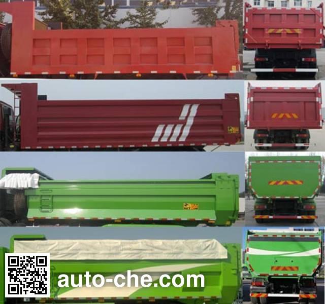 Foton Auman BJ3253DLPKB-XM dump truck
