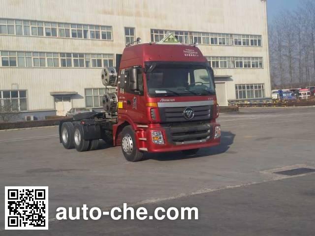 Foton Auman BJ4253SNFCB-AF седельный тягач для перевозки опасных грузов