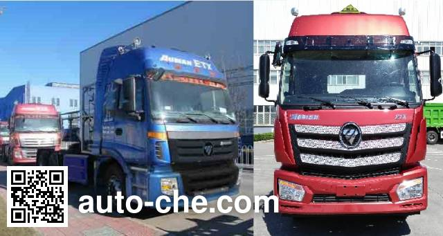 Foton Auman BJ4253SNFCB-XC dangerous goods transport tractor unit