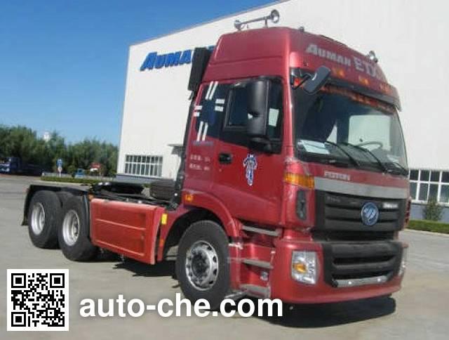Foton Auman BJ4253SNFKB-XK dangerous goods transport tractor unit