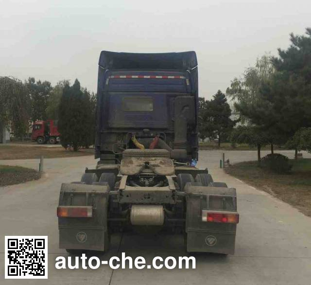 Foton Auman BJ4259SNFKB-AD container transport tractor unit