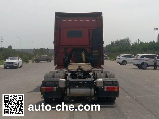 Foton Auman BJ4269SNFKB-AD dangerous goods transport tractor unit