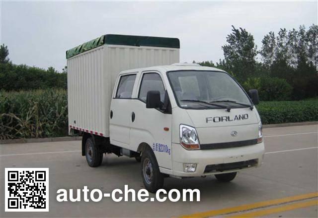 Foton BJ5026CPY-D soft top box van truck
