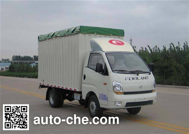 Foton BJ5026CPY-J soft top box van truck