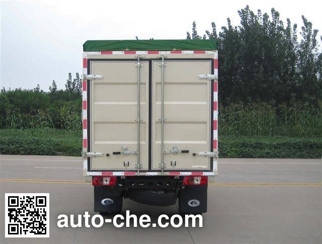 Foton BJ5026CPY-P soft top box van truck