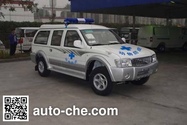 Foton BJ5028E16WA immunization and vaccination medical car