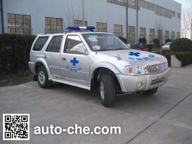 Foton BJ5028EC6WA immunization and vaccination medical car