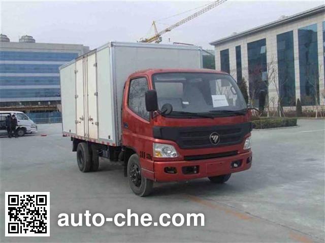 Foton BJ5031V3BD6-FA box van truck