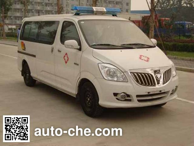 Foton BJ5036XLL-XA cold chain vaccine transport medical vehicle