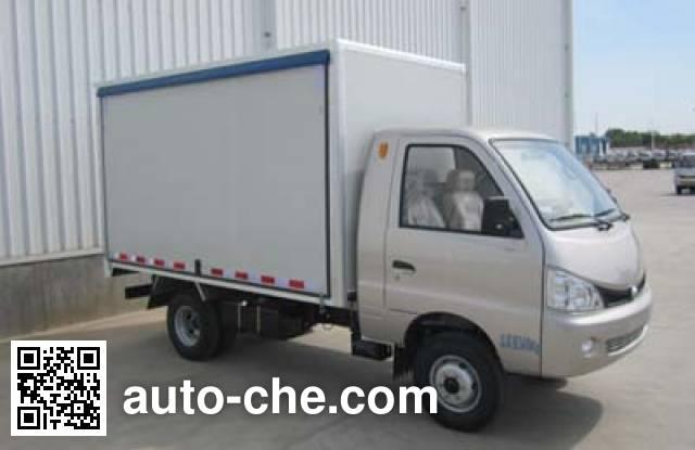 Heibao BJ5036XYKD30GS автофургон с подъемными бортами (фургон-бабочка)