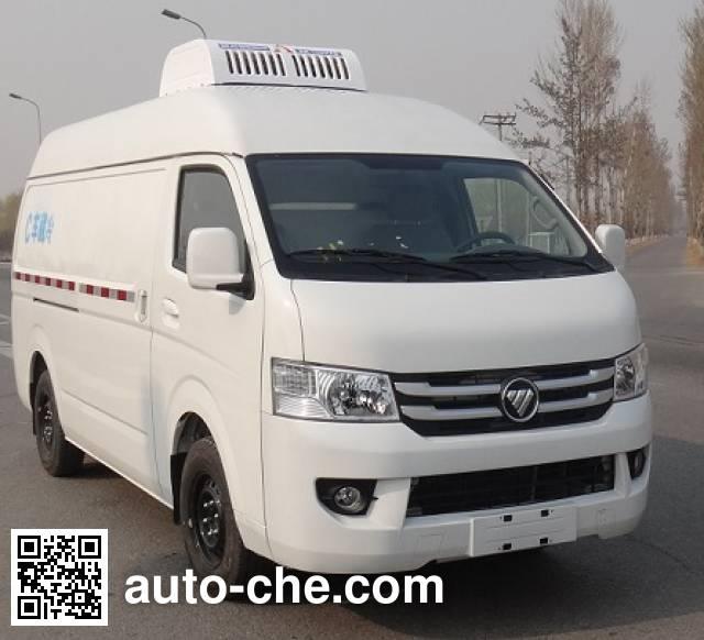 福田牌BJ5039XLC-C5冷藏车