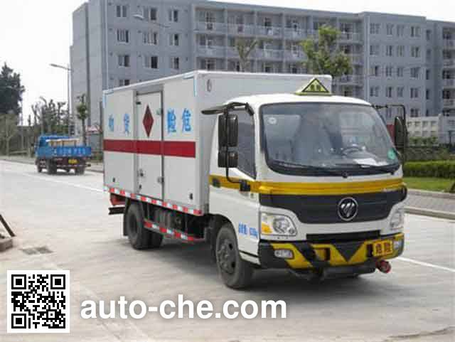 Foton BJ5041XRQ-FA flammable gas transport van truck