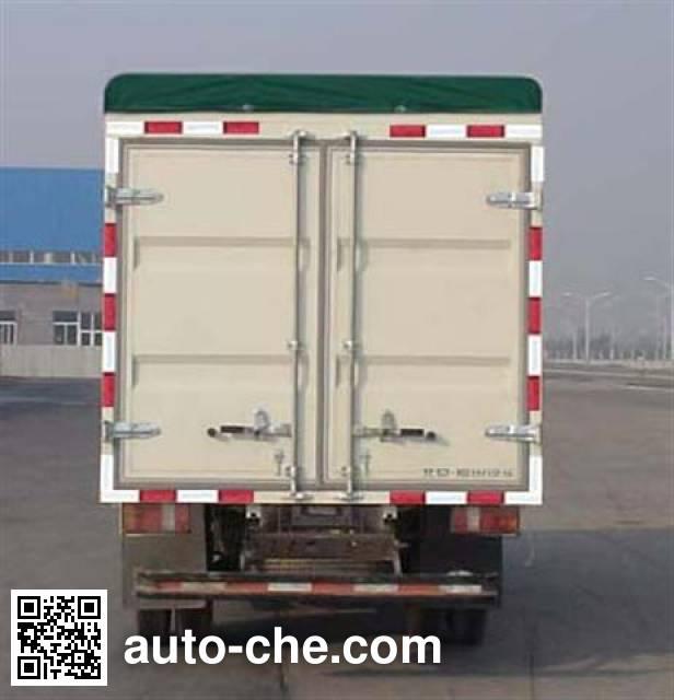 Foton BJ5042V9BB5-C soft top box van truck