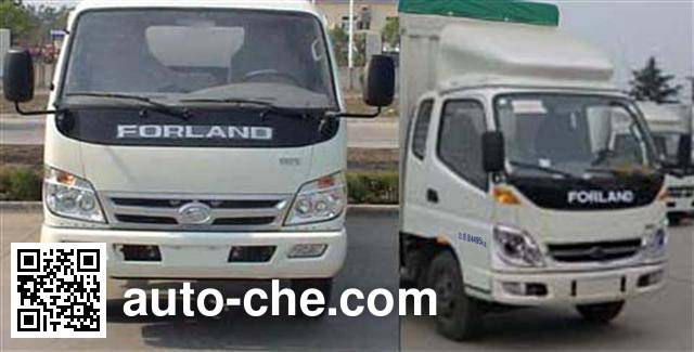 Foton BJ5043V9CDA-C soft top box van truck