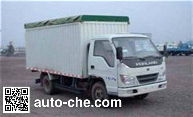 Foton BJ5046V9BDA-B soft top box van truck