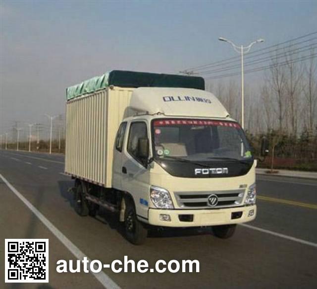 Foton BJ5049V8CEA-4 soft top box van truck