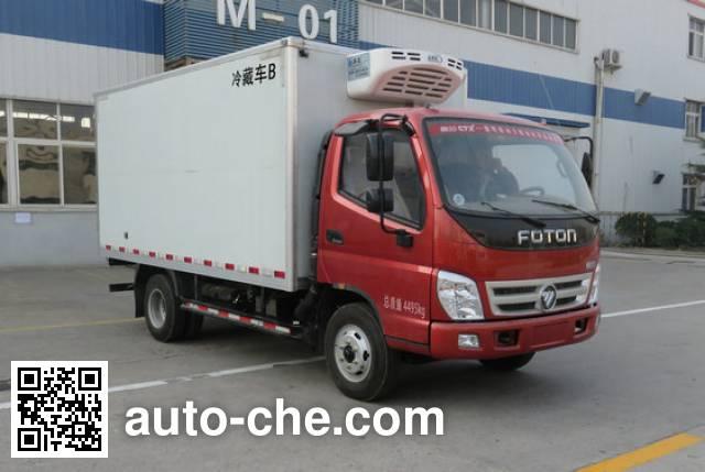 福田牌BJ5049XLC-A7冷藏车