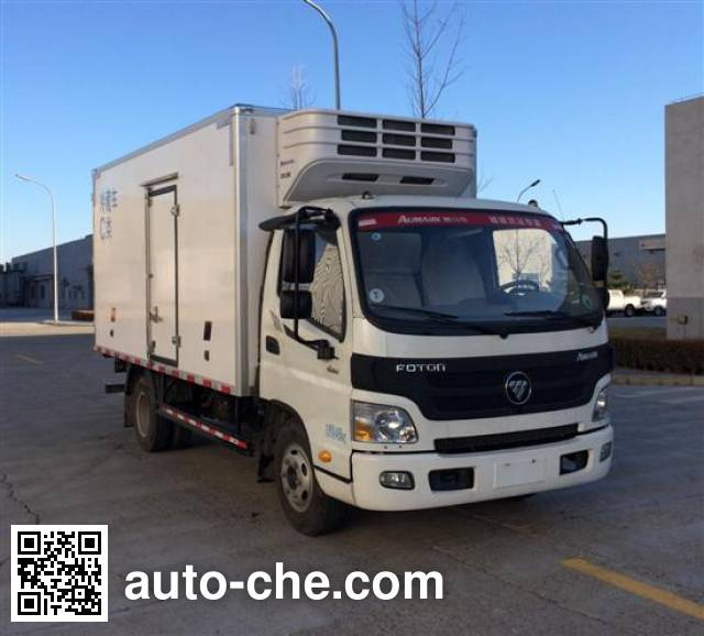 Foton BJ5049XLC-F5 refrigerated truck