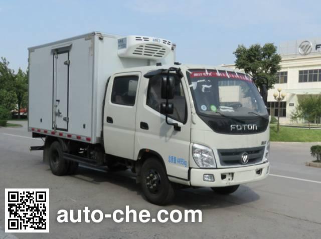 福田牌BJ5049XLC-FC冷藏车