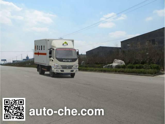 Foton BJ5049XQY-AB explosives transport truck