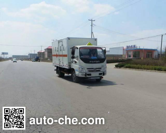 Foton BJ5049XQY-AC explosives transport truck