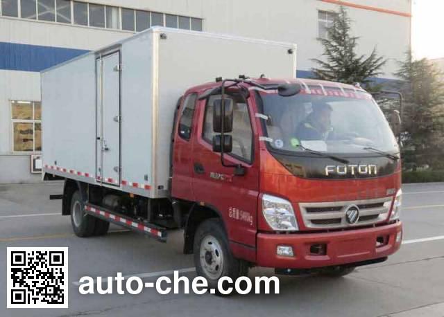 Foton BJ5069VBCED-FB box van truck