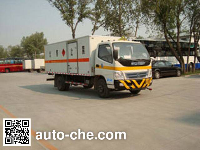 Foton BJ5079XWY-S dangerous goods transport vehicle