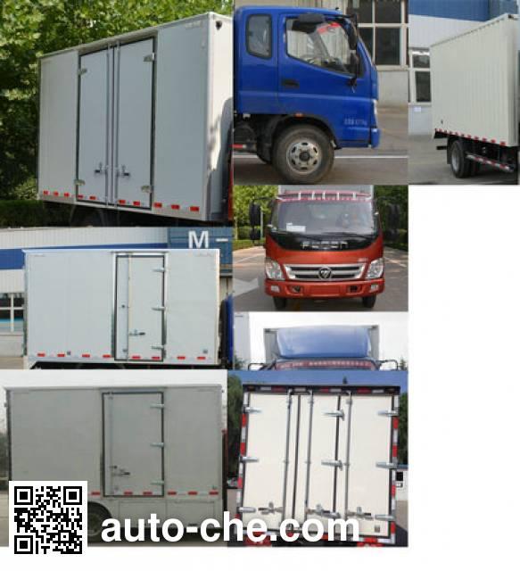 Foton BJ5089XXYEV1 electric cargo van
