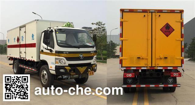 Foton BJ5099XRQ-FA flammable gas transport van truck
