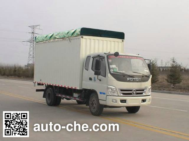 Foton BJ5129VJCFA-5 soft top box van truck