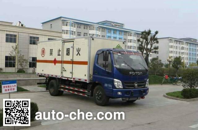 Foton BJ5129XQY-FA explosives transport truck