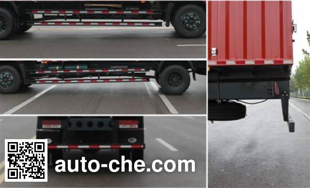 Foton BJ5133CPY-B2 soft top box van truck