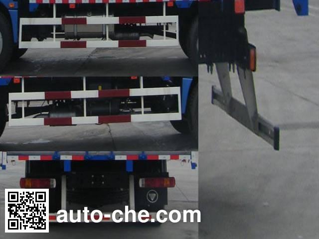 Foton Auman BJ5163CCQ-XA livestock transport truck