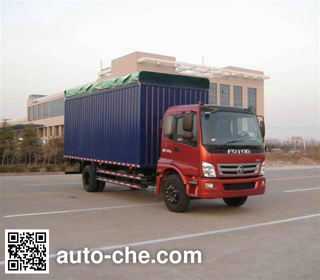 Foton BJ5169CPY-CA soft top box van truck