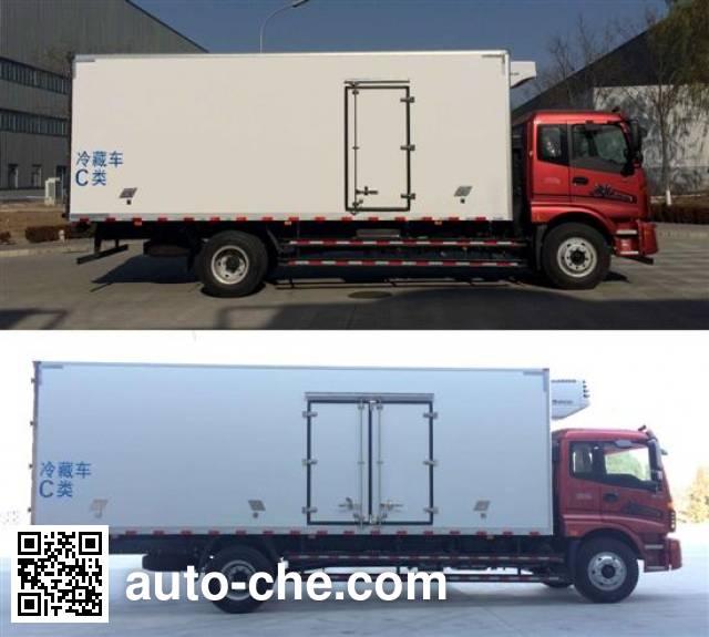 福田牌BJ5169XLC-F2冷藏车