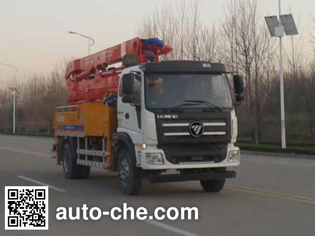 Foton BJ5185THB-1 concrete pump truck